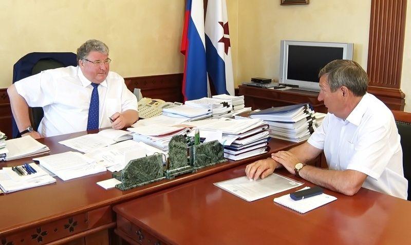 Владимир Волков обсудил перспективы развития молочного животноводства в республике