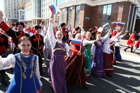 """Welcome to Mordovia!""- The national festival of Amateur folk art in the format of presentations of municipal districts.  June 24th"
