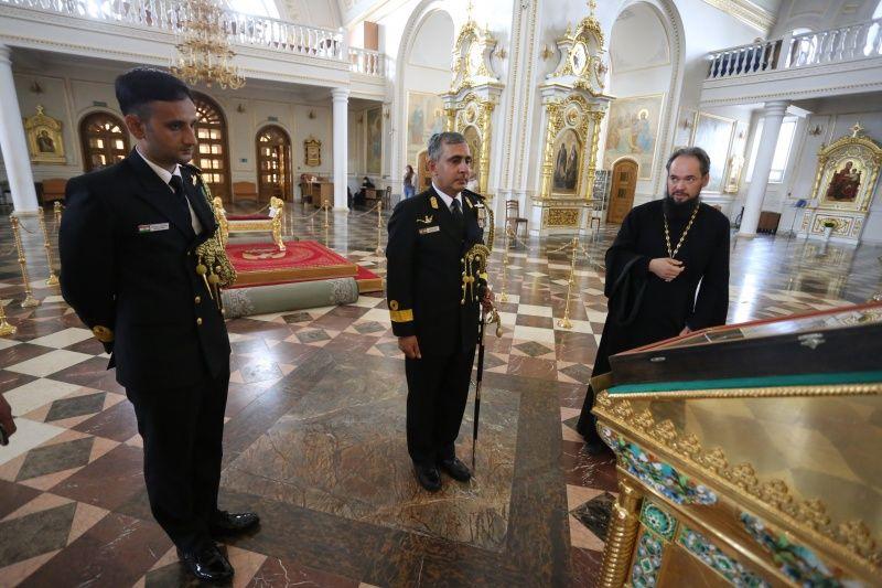 В Саранск прибыли с визитом представители военно-морских сил Индии