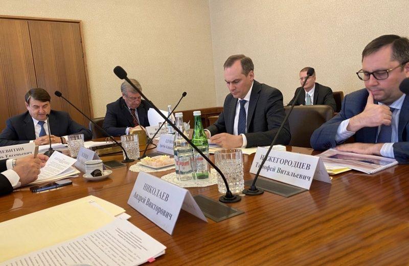 Артём Здунов выступил на заседании комиссии Госсовета по направлению «Образование»